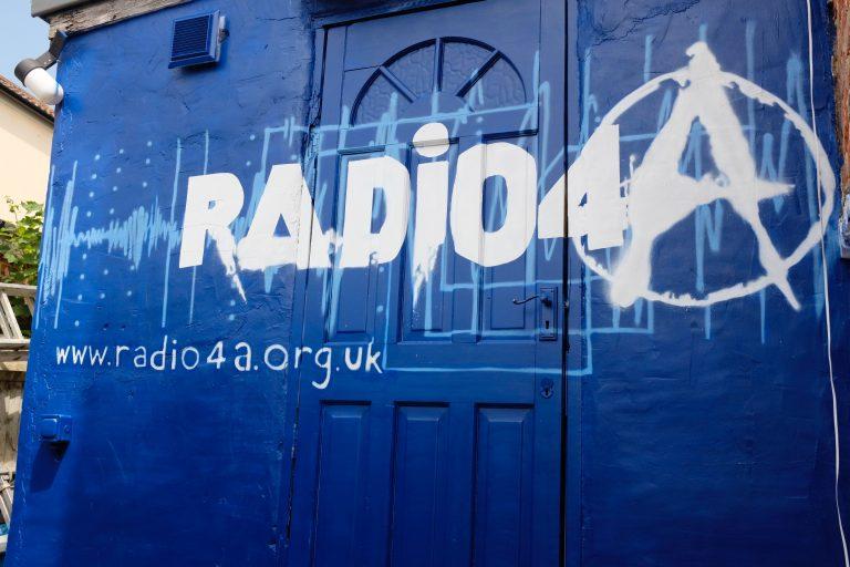 Radio 4A studio